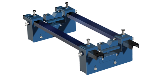 MBW belt scale for continuous weighing