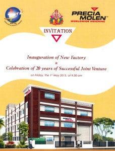 Precia Molen India inaugurates its new premises | Precia Molen