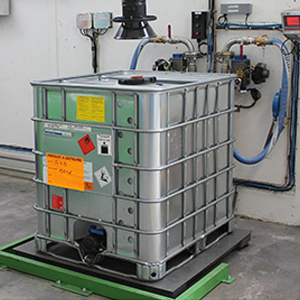 Weighing products for hazardous area
