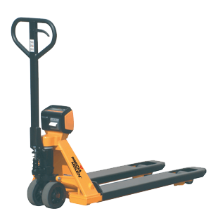 X-TRA weighing pallet truck
