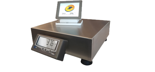 Postal scale for letters and parcels - PRECIA MOLEN