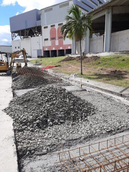 PRECIA MOLEN civil works for the new weighbridge