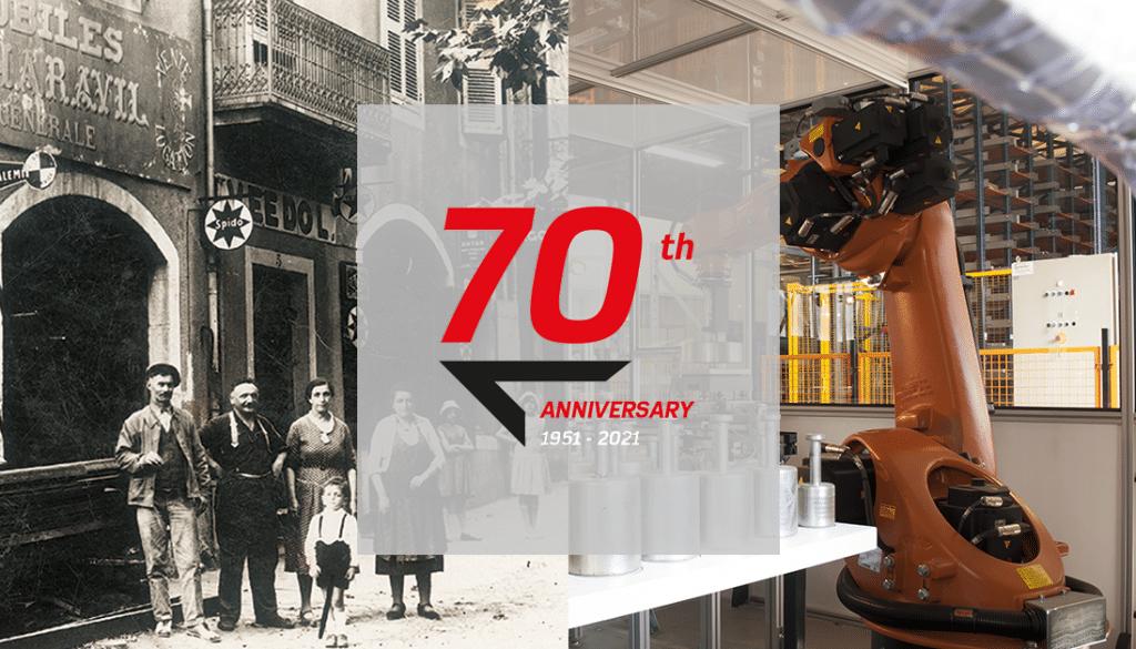 In 2021, PRECIA MOLEN celebrates its 70th anniversary.